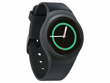 New DARK GRAY Samsung Galaxy Gear S2 42mm R730a Stainless Steel CaseGSM Unlocked