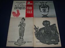 1963-1972 NATIONAL ANTIQUES SHOW PROGRAM LOT OF 4 - MADISON SQ. GARDEN - J 611
