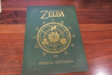 THE LEGEND OF ZELDA  - HYRULE HISTORIA -- GUIDE DU JEU OFFICIEL   / ANGLAIS - UK