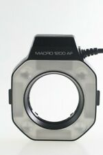 Minolta macro 1200 af Flash anillo light Flash con control unit