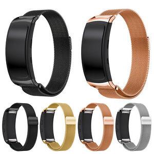 Milanese Magnetic Loop Bracelet for Samsung Gear Fit 2 /Fit2 Pro Band Strap Belt
