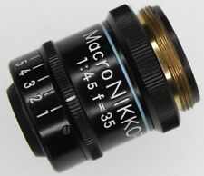 Nikon Macro-Nikkor 35mm f4.5  #38408  ........... Very Rare !!