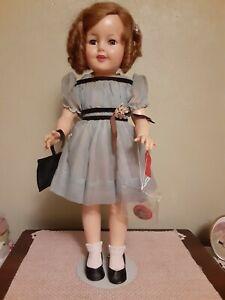 "Vintage 1957 Vinyl Ideal 19"" Shirley Temple Doll"