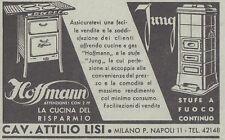 V0961 Cucine a gas Hoffmann e stufe Jung - Pubblicità d'epoca - 1933 vintage ad