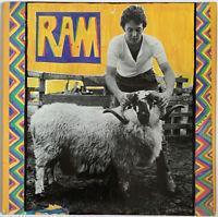 PAUL MCCARTNEY RAM LP APPLE UK 1971 FIRST PRESSING -1/-1 MATRIX LAMINATED SLEEVE