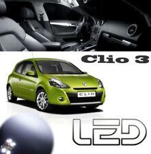 Clio 3 P2 Packung 15 LED-Lampen weiß Innenraum Kennzeichen Nachtlichter