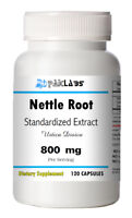Stinging Nettle Root Standardized Extract 800mg Serving 120 Capsules Big Bottle