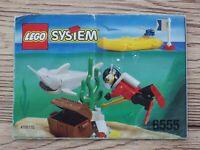 Notice vintage LEGO SYSTEM ref 6555 manuel d'instruction montage