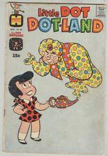 Little Dot Dotland #48 November 1970 G Genie Cover