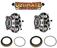 Front Wheel Bearing Hubs (Pair) Right & Left for 03-16 Toyota 4Runner 4x4