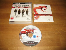 PS3 game - Operation Flashpoint Red River complete PAL