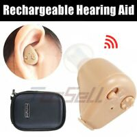 Invisible High-power Rechargeable Digital Hearing Aid Severe Loss ITE Ear Aids