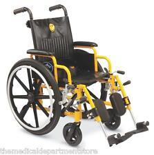 """Medline Excel Kidz 14 """"Pediatric Wheelchairs - New Kids Wheelchair"""