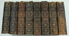 Cooper's Works James Fenimore Cooper Nottingham Leather 1900 Limited Edition