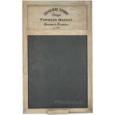 General Store Farmers Market Chalk Memo Notice Black Board Shabby Chic Vintage