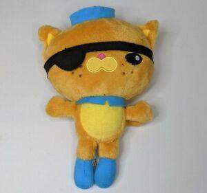 Octonaut Kwazii Plush Kitten 2011 20cm Tall Mattel Fisher Price