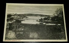VINTAGE POSTCARD - THE HARBOUR, ABERSOCH - EARLY 1900's (2)