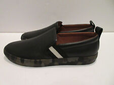 BALLY Mens Slip-on Sneakers BLACK & CAMO - Size 13 US NEW!
