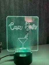 Personalised Led Bar Light / Sign - Ideal for garden bars
