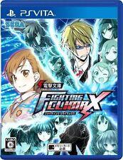 Dengeki Bunko Fighting Climax PSV Sega Sony Playstation Vita Japan USED