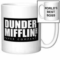 World's Best Boss Coffee Mug (The Office, Dunder Mifflin) - Coffee Mug Gift