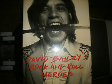 David Bailey's Rock 'n Roll Heroes, text by Neil Spencer, 1997,1st U.S edition