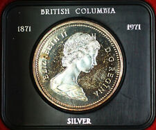 1971 Canada Silver $1 Beautifully Original Toned Obverse
