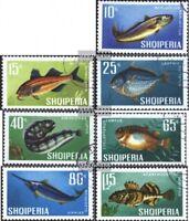 Albanien 1131-1137 (kompl.Ausg.) gestempelt 1967 Fische