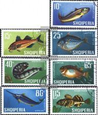Albania 1131-1137 (edición completa) usado 1967 peces