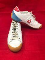 Le Coq Sportif Escrime White Athletic Sneaker Women Shoe Sz 9.5 US 41 EU