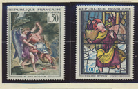 France Stamps Scott #1054 To 1055, Mint Lightly Hinged