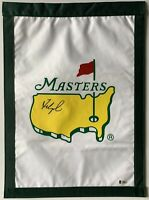 Fred Couples signed Masters flag augusta national golf pga beckett coa