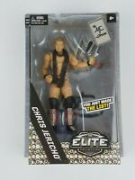 Mattel WWE Elite Series Chris Jericho Figure Gamestop exclusive