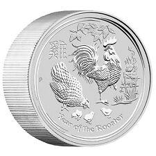 1 Kilo Silber Jahr des Hahns - Lunar Hahn 2017 30 Dollar Australien Stempelglanz