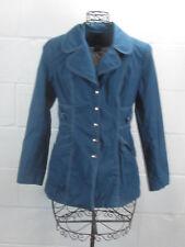Smythe Les Vestes Blue w/ White Double Stitch Detail Cotton Light Parka Jacket 6