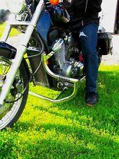 Honda VT 600/VLX 600 Shadow Acero inoxidable personalizado de choque bar Guardia con clavijas
