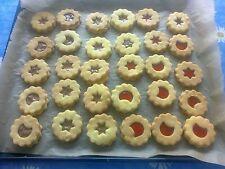 Leckere selbstgebackene gefüllte Butter- Plätzchen/Kekse  ca. 1 kg