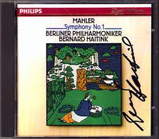 Bernard HAITINK Signiert MAHLER Symphony No.1 Berliner Philharmoniker CD Titan