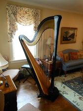 Beautiful Lyon & Healy Concert Grand Pedal Harp FOR SALE