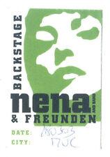 Nena - Konzert-Satin-Pass Backstage München vom 28.03.2003 Sammlerstück