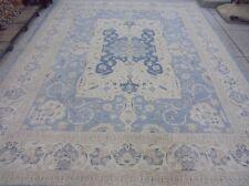 Ziglar Chobi Peshawar Blue Carpet Home Decor Handmade 12x15 Classic Ziegler Rug