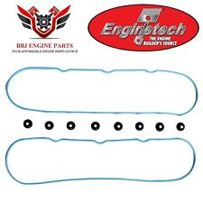 ENGINETECH CHEVY GENIII 4.8 5.3 5.7 6.0 6.2 LS1 LS2 VALVE COVER GASKETS VCC293-A