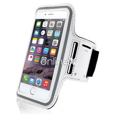 Brazalete Deportivo Neopreno BLANCO para IPHONE 6 PLUS a819