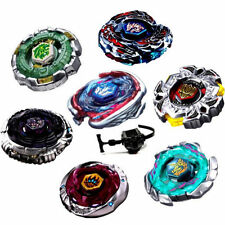 AU Beyblade Set Fusion Metal Fight Master 4D Top Quickly Launcher Grip new Brand