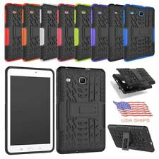 "For Samsung Galaxy Tab E 8.0"" T377 Hybrid Hard Kickstand Shockproof Case Cover"
