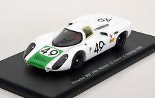Spark S4161  Porsche 907 #49, Siffert & Herrmann 1st 1968 Sebring, Resin  1/43