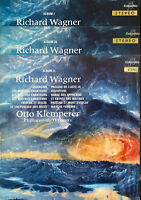 RARE CLASSIC 3 LP OTTO KLEMPERER WAGNER OG FRENCH COLUMBIA SAXF 868/869/937