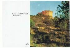 Lámina Colección Castillos de España Nº 85 Castelldefels, Barcelona. Laboratorio