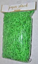 Design/Focus paper shred Green 6 oz Fine Shred/Crinkle Paper