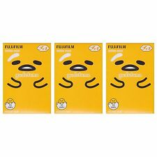 3 Packs 30 Photos Sanrio Gudetama FujiFilm Fuji Instax Mini Film Polaroid SP-2